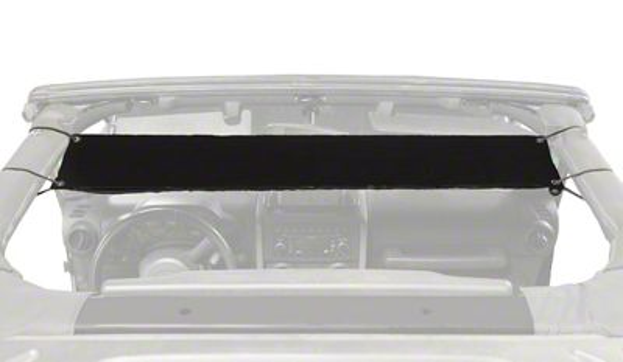 Steinjager Overhead Pocket - Black (97-06 Jeep Wrangler TJ)