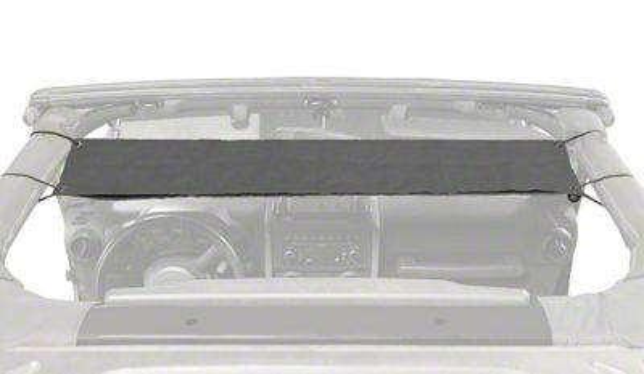 Steinjager Overhead Pocket - Charcoal (97-06 Jeep Wrangler TJ)