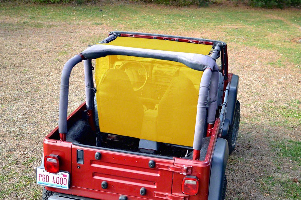 Steinjager Teddy Top Truckster - Yellow (97-06 Jeep Wrangler TJ)
