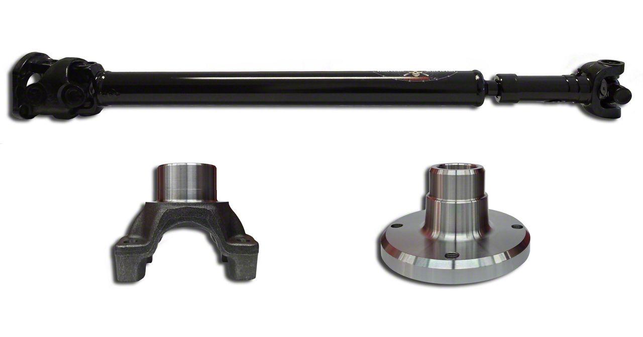 Adams Driveshaft Extreme Duty Rear 1350 Solid CV Driveshaft (07-18 Jeep Wrangler JK 4 Door)