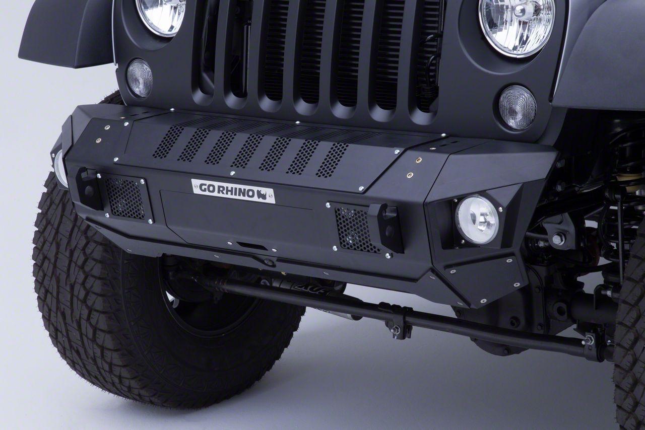 Go Rhino BRJ40 Front Bumper (07-18 Jeep Wrangler JK)