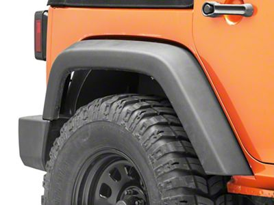 Go Rhino Rear Wheel Well Inner Fender Liners (07-18 Jeep Wrangler JK)