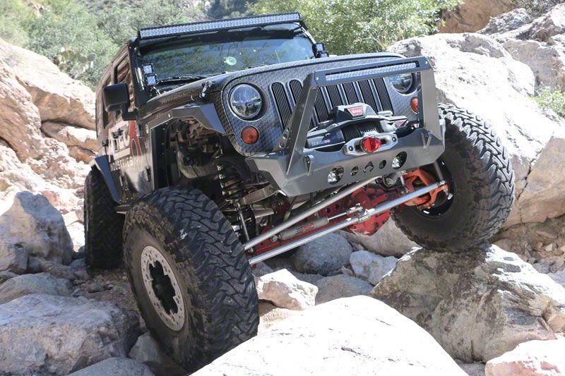 Artec Industries Nighthawk Front Bumper w/ Blade Stinger (07-18 Jeep Wrangler JK)