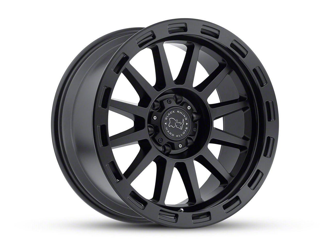 Black Rhino Revolution Matte Black Wheel - 20x10 (18-19 Jeep Wrangler JL)