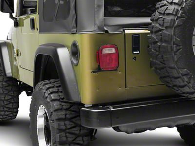 Rough Country License Plate Adapter (97-06 Jeep Wrangler TJ)