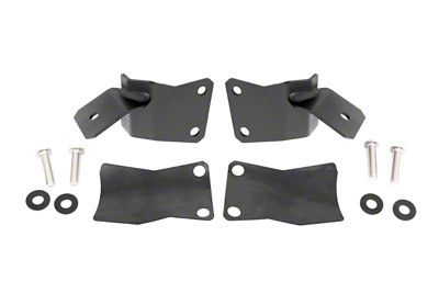 Rough Country Lower A-Pillar Light Mounts (97-06 Jeep Wrangler TJ)