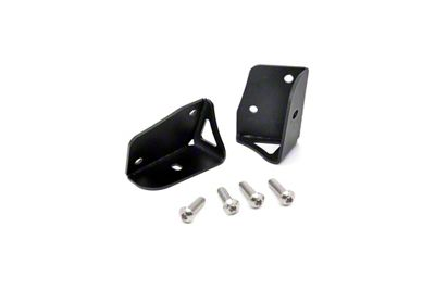 Rough Country Lower Windshield LED Light Mounts (97-06 Jeep Wrangler TJ)