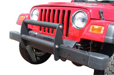 Olympic 4x4 Grille Guard - Textured Black (87-95 Jeep Wrangler YJ)
