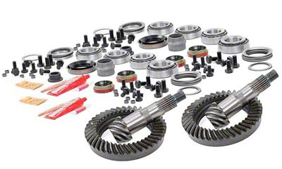 Rough Country Dana 30F/35R Ring Gear and Pinion Kit w/ Install Kit - 4.56 Gears (97-06 Jeep Wrangler TJ)