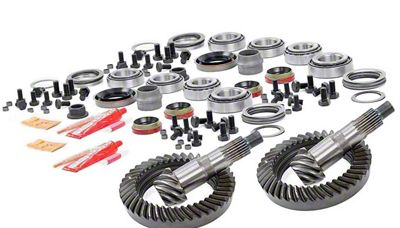 Rough Country Dana 30F/35R Ring Gear and Pinion Kit w/ Install Kit - 4.88 Gears (97-06 Jeep Wrangler TJ)