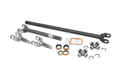Rough Country 27 Spline 4340 Chromoly Replacement Dana 30 Front Axle (87-06 Jeep Wrangler YJ & TJ)