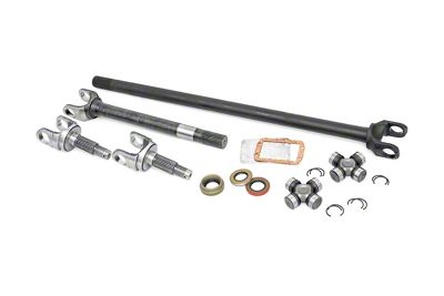Rough Country 30 Spline 4340 Chromoly Replacement Dana 30 Front Axle w/ Grizzly Locker (87-06 Jeep Wrangler YJ & TJ)