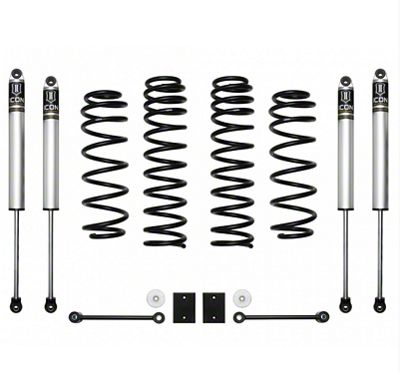 ICON Vehicle Dynamics 2.5 in. Suspension Lift System - Stage 1 (2018 Jeep Wrangler JL)