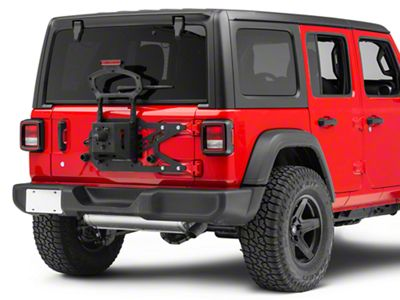 DV8 Off-Road Tailgate-Mounted Tire Carrier (18-19 Jeep Wrangler JL)