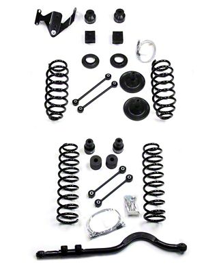 Teraflex 4 in. Suspension Lift Kit w/ Track Bar (07-18 Jeep Wrangler JK 4 Door)
