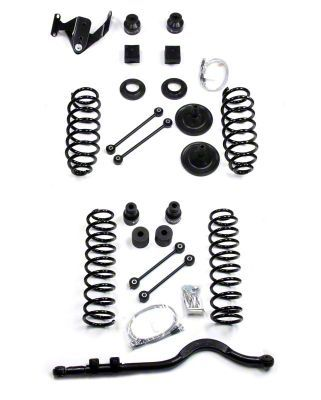 Teraflex 4 in. Suspension Lift Kit w/ 9550 Shocks & Track Bar (07-18 Jeep Wrangler JK 4 Door)