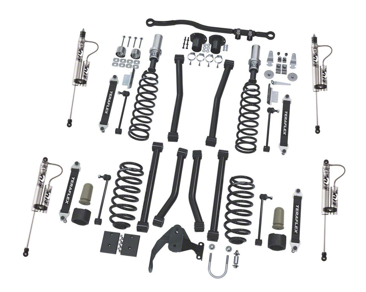 Teraflex 3 in. Sport S/T3 Suspension Lift Kit w/ Fox Shocks (07-18 Jeep Wrangler JK 2 Door)