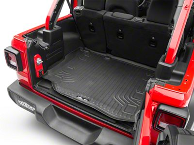 Husky WeatherBeater Cargo Liner - Black (18-19 Jeep Wrangler JL 4 Door)