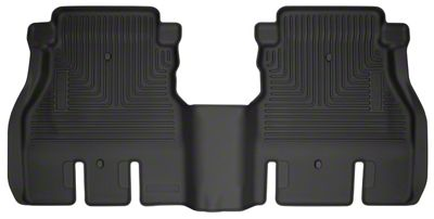Husky WeatherBeater Rear Floor Liner - Black (18-19 Jeep Wrangler JL 4 Door)