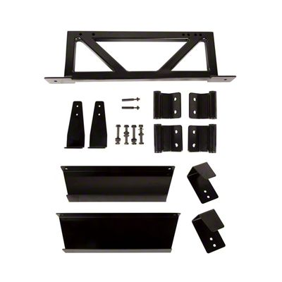 Rugged Ridge Door & Freedom Panel Wall Mount Kit (07-18 Jeep Wrangler JK)