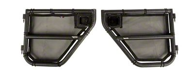 Rugged Ridge Rear Tube Doors (07-18 Jeep Wrangler JK 4 Door)