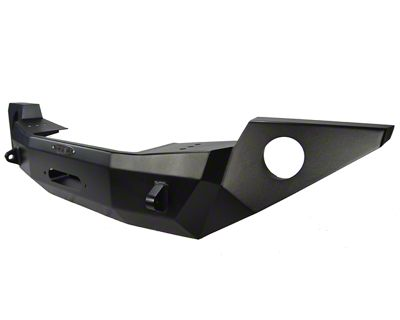 Rock-Slide Engineering Rigid Series Full Front Steel Bumper w/ Winch Plate (18-19 Jeep Wrangler JL)