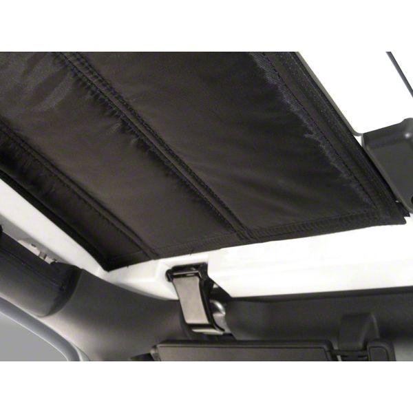 Rugged Ridge Hardtop 3 Piece Insulation Panel (07-10 Jeep Wrangler JK 2 Door)