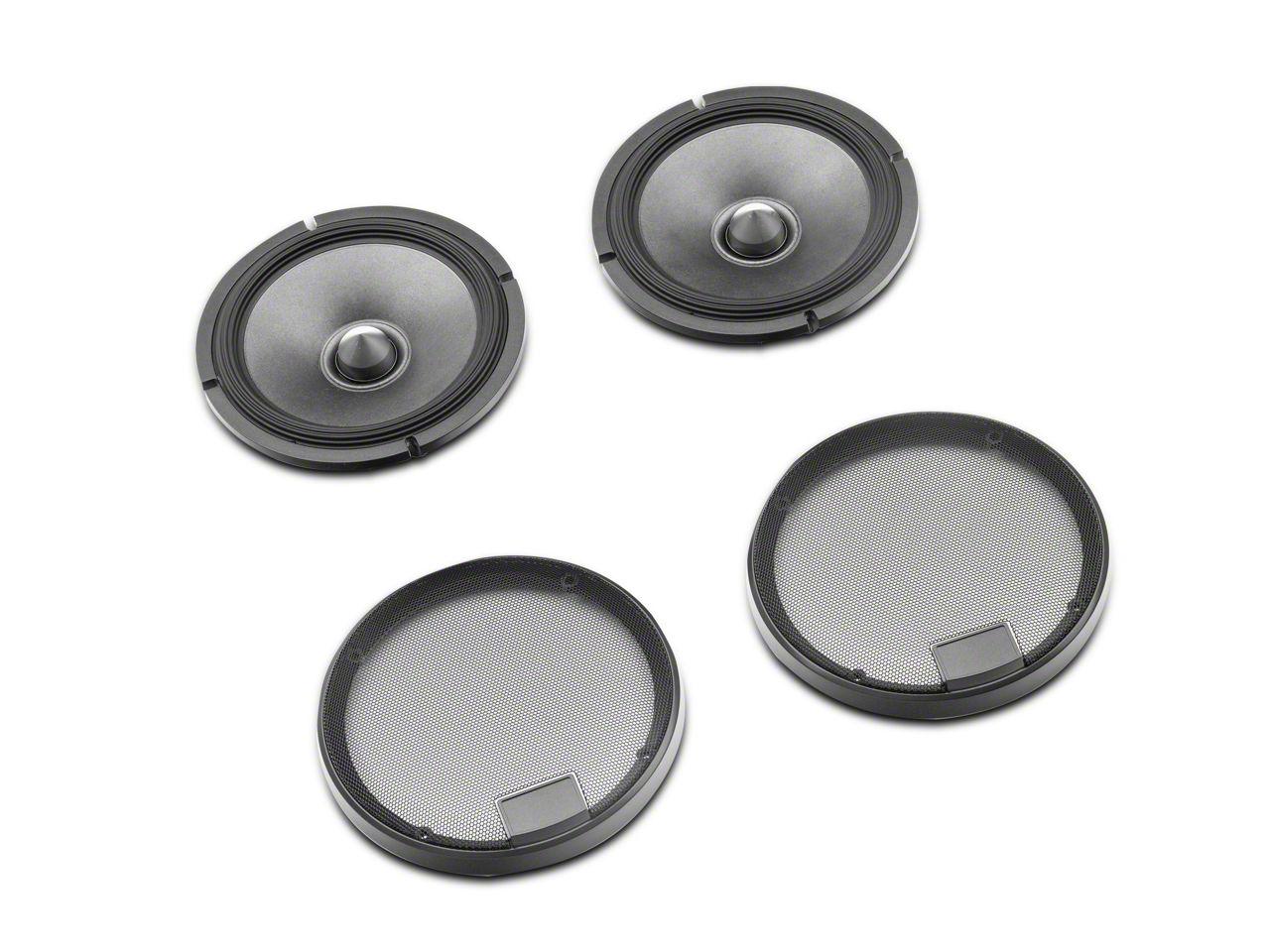 Alpine R-Series 6-1/2 in. Component 2-Way Speaker System - 100W (07-18 Jeep Wrangler JK)
