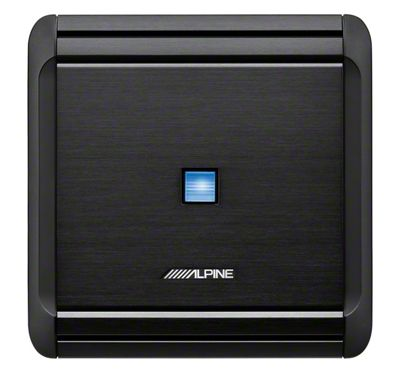 Alpine 4/3/2 Channel V-Power Digital Amplifier - 50W x 4 (87-19 Jeep Wrangler YJ, TJ, JK & JL)
