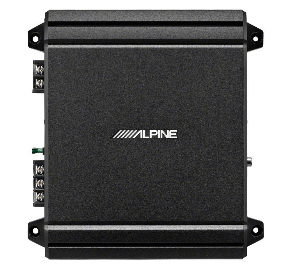 Alpine Mono V-Power Digital Amplifier - 150w x 1 (87-19 Jeep Wrangler YJ, TJ, JK & JL)
