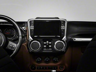 Alpine 9 in. In-Dash Restyle Mechless System (11-18 Jeep Wrangler JK)