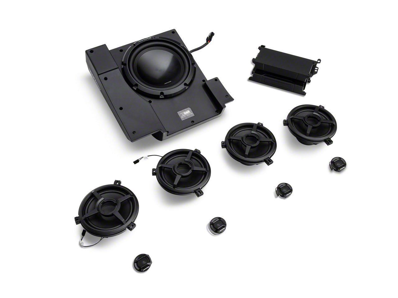 Alpine Full Sound System Upgrade - 600W (11-18 Jeep Wrangler JK 4 Door)