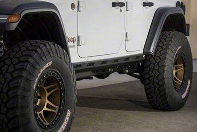 Addictive Desert Designs Rock Sliders (2018 Jeep Wrangler JL 4 Door)
