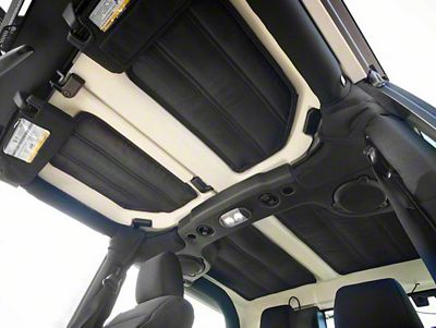 Rugged Ridge Hardtop Black Insulation (11-18 Jeep Wrangler JK 2 Door)