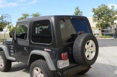 DV8 Off-Road 2-Piece Square Back Hard Top (97-06 Jeep Wrangler TJ, Excluding Unlimited)
