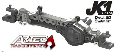 Artec Industries 1 Ton Front Dana 60 Swap Kit (07-18 Jeep Wrangler JK)