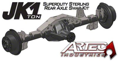 Artec Industries 1 Ton Super Duty Rear Sterling Swap Kit (07-18 Jeep Wrangler JK)