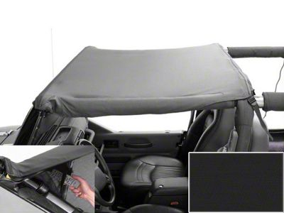 Rugged Ridge Mount Pocket Brief - Black Denim (97-06 Jeep Wrangler TJ)