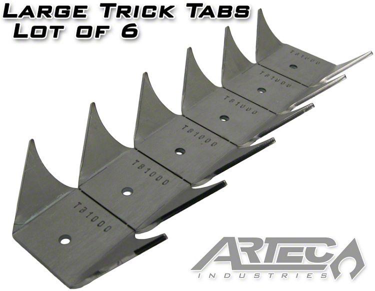 Artec Industries Large Trick Tabs (87-19 Jeep Wrangler YJ, TJ, JK & JL)