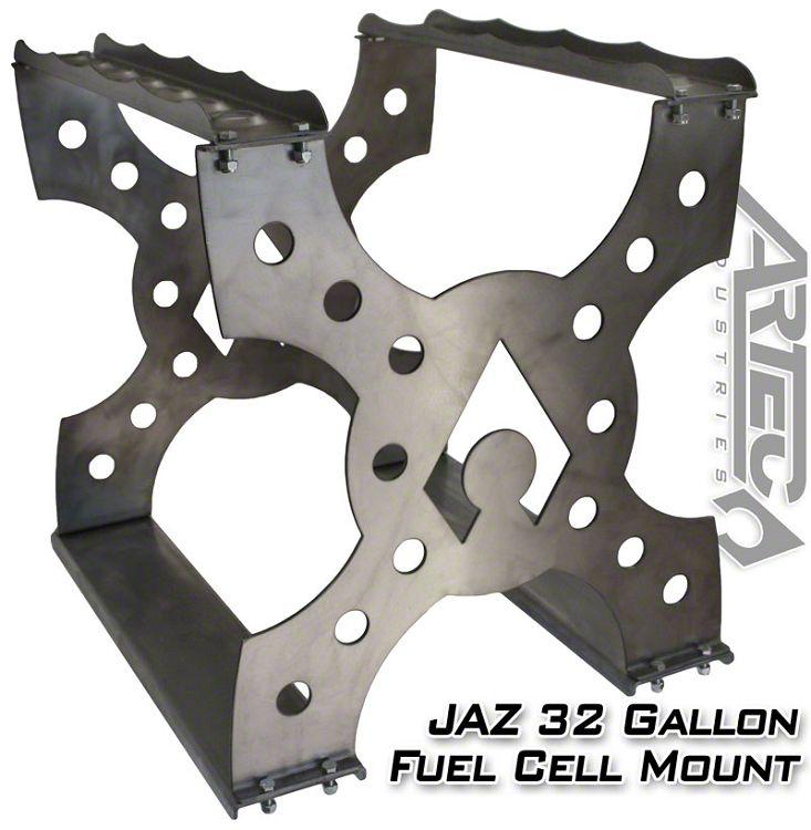 Artec Industries Model 032 JAZ Pro Sport 32 Gallon Fuel Cell Mount (87-19 Jeep Wrangler YJ, TJ, JK & JL)
