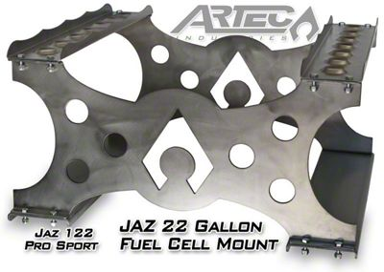 Artec Industries Model 622 JAZ Pro Sport 22 Gallon Fuel Cell Mount (87-19 Jeep Wrangler YJ, TJ, JK & JL)