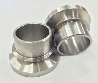 Artec Industries Short 7/8 in. High Misalignment Spacers - 3/4 in. Bolt Hole Size (87-19 Jeep Wrangler YJ, TJ, JK & JL)