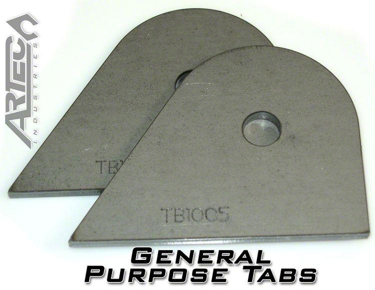 Artec Industries Small General Purpose Tabs (87-19 Jeep Wrangler YJ, TJ, JK & JL)