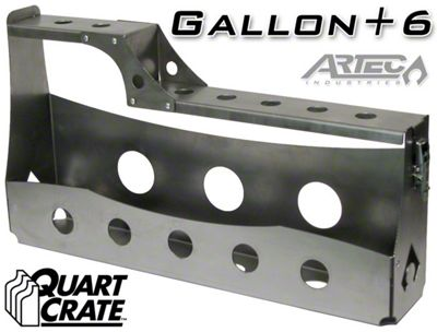 Artec Industries Turbo G6 Quart Crate (87-19 Jeep Wrangler YJ, TJ, JK & JL)