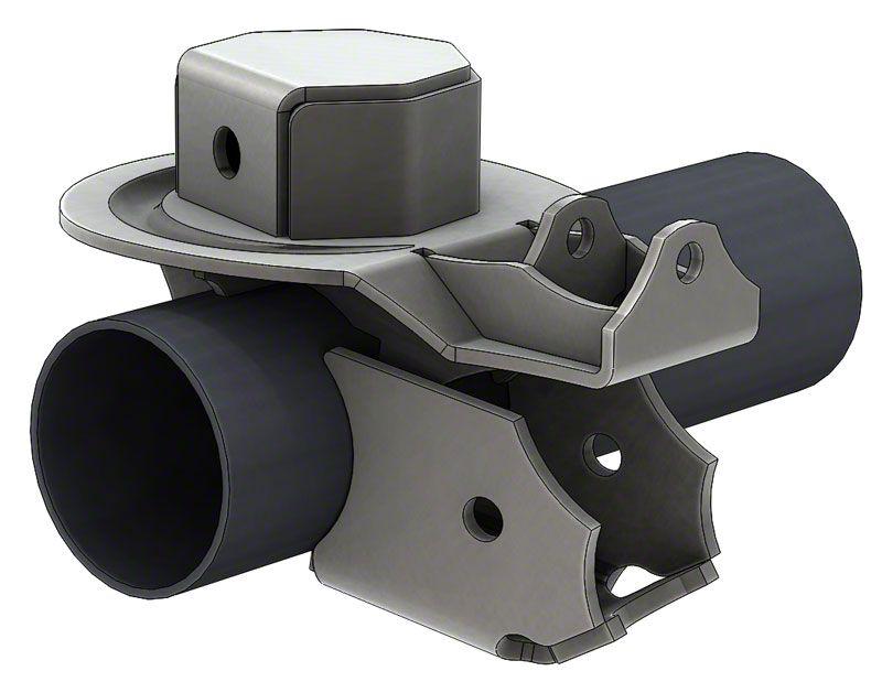Artec Industries Ultimate Coil Brackets for 3-3.5 in. Diameter Axle Tubes (87-19 Jeep Wrangler YJ, TJ, JK & JL)