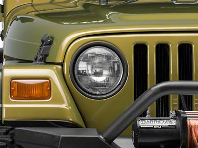 Omix-ADA Headlamp Assembly - Passenger Side (97-06 Jeep Wrangler TJ)