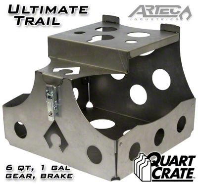 Artec Industries Ultimate Trail Quart Crate (87-19 Jeep Wrangler YJ, TJ, JK & JL)