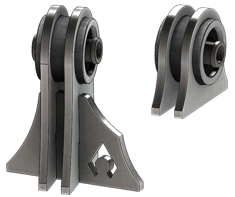 Artec Industries Weld-On UCA Brackets for Low Pro Front Truss (97-06 Jeep Wrangler TJ)