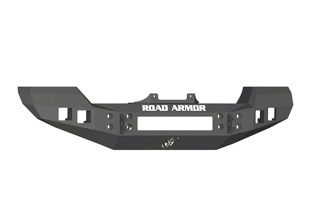 Road Armor Stealth Front Bumper - Satin Black (07-18 Jeep Wrangler JK)