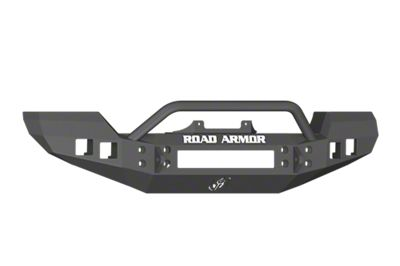 Road Armor Stealth Front Bumper w/ Pre-Runner Guard - Satin Black (07-18 Jeep Wrangler JK)